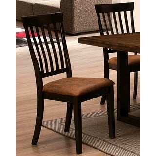 Sen Remo Rustic Two-tone Dining Chairs (Set of 2)