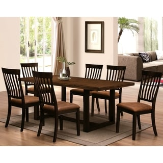 Sen Remo Rustic Two-tone 7-piece Dining Set