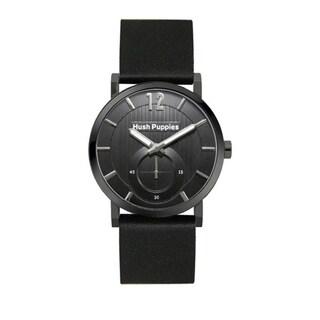 Hush Puppies Men's Black Dial Black Genuine Leather Watch HP.3628M.2502 https://ak1.ostkcdn.com/images/products/10690735/P17754594.jpg?_ostk_perf_=percv&impolicy=medium