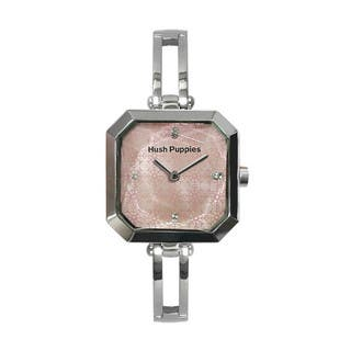 Hush Puppies Women's Crescendo Pink Dial Stainless Steel Watch|https://ak1.ostkcdn.com/images/products/10690855/P17754601.jpg?impolicy=medium