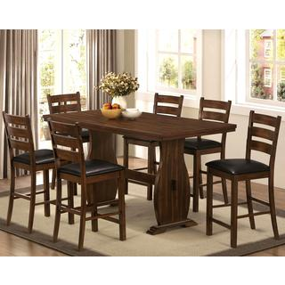 Ostrah Vintage Ladder Back Counter Height 6-piece Dining Set