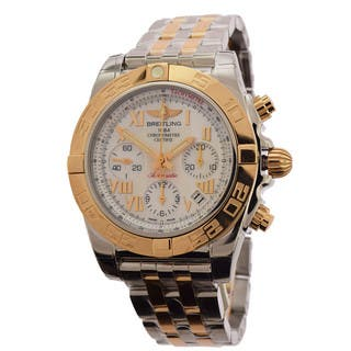 Breitling Men's CB014012-A748 Chronograph Stainless Steel Bracelet Watch https://ak1.ostkcdn.com/images/products/10691077/P17754604.jpg?impolicy=medium