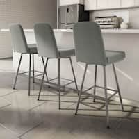 Clay Alder Home Kane Swivel Metal Counter Stool