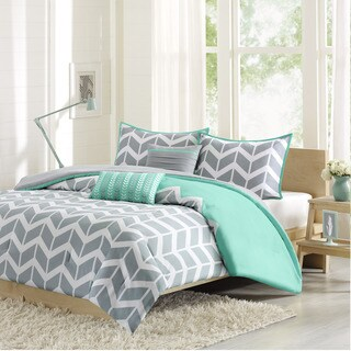 Intelligent Design Laila 5-piece Full/ Queen Size Comforter Set in Teal (As Is Item)