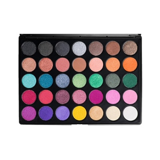 Morphe 35-Color Multi-Color Shimmer Palette
