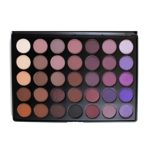 Morphe 35-Color Plum Eyeshadow Palette