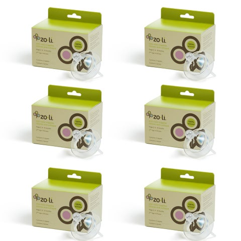 Stage 2 Anti Colic Silicone Baby Nipple (6 Pack) two per pack