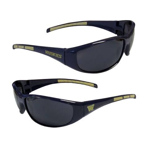 NCAA Washington Huskies Wrap 3 Dot Sunglasses