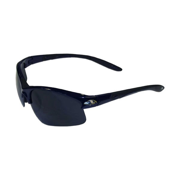 Baltimore Ravens NFL Blade/Wing Sunglasses