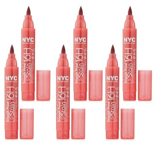 New York Color Smooch Proof Endless Spice Lip Stain (Pack of 6)