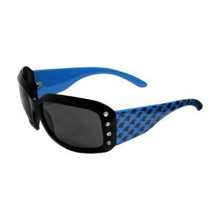 Carolina Panthers NFL Women's Designer Bling Sunglasses
