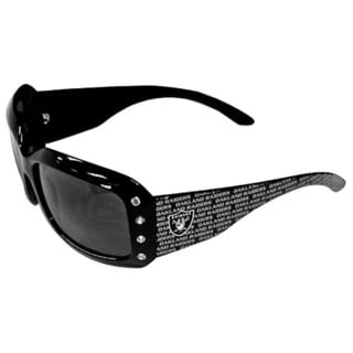 Oakland Raiders NFL Women's Designer Bling Sunglasses