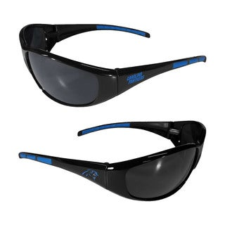 Carolina Panthers NFL Wrap 3 Dot Sunglasses
