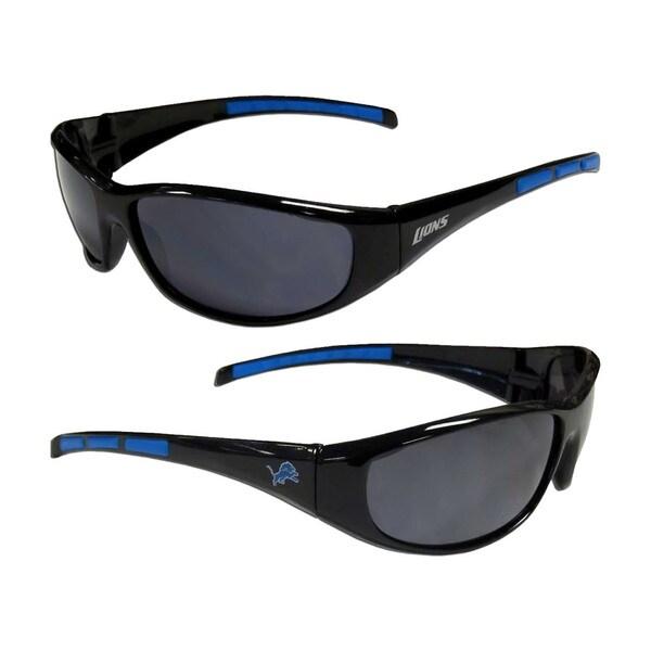 Detroit Lions NFL Wrap 3 Dot Sunglasses