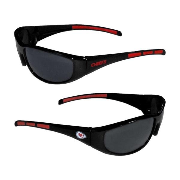 Kansas City Chiefs NFL Wrap 3 Dot Sunglasses