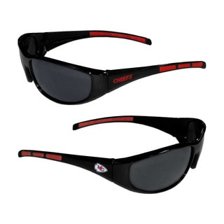 Kansas City Chiefs NFL Wrap 3 Dot Sunglasses