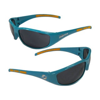 Miami Dolphins NFL Wrap 3 Dot Sunglasses