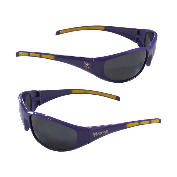 45ee640365ecd Shop Minnesota Vikings NFL Wrap 3 Dot Sunglasses - Free Shipping On Orders  Over  45 - Overstock - 10693169