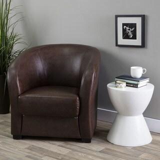 Hazelton Home Hugo Armchair In Leather