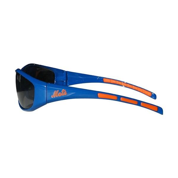 MLB New York Mets Wrap 3 Dot Sunglasses