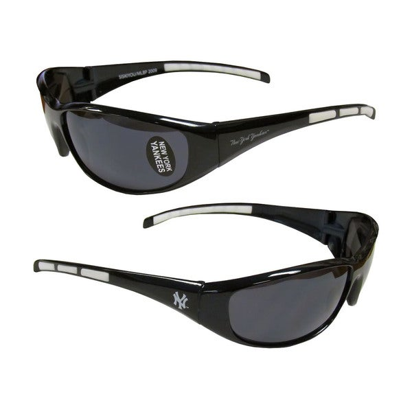 MLB New York Yankees Wrap 3 Dot Sunglasses