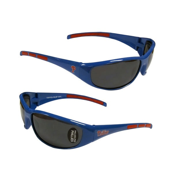 MLB Philadelphia Phillies Wrap 3 Dot Sunglasses