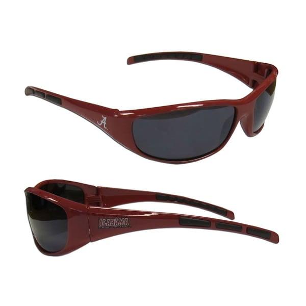 NCAA Alabama Crimson Tide Wrap 3 Dot Sunglasses