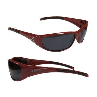 NCAA Alabama Crimson Tide Wrap 3 Dot Sunglasses (Option: Alabama Crimson Tide)