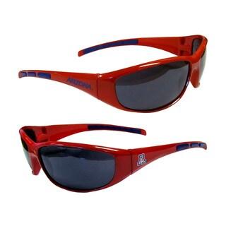 NCAA Arizona Wildcats Wrap 3 Dot Sunglasses (Option: Arizona Wildcats)