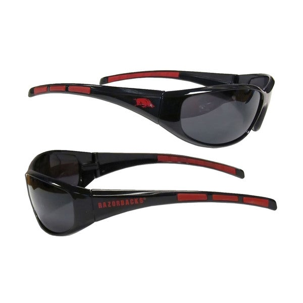 NCAA Arkansas Razorbacks Wrap 3 Dot Sunglasses
