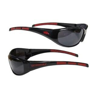 NCAA Arkansas Razorbacks Wrap 3 Dot Sunglasses