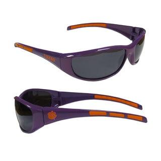 NCAA Clemson Tigers Wrap 3 Dot Sunglasses