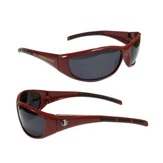 NCAA Florida State Seminoles Wrap 3 Dot Sunglasses (Option: Florida State Seminoles)