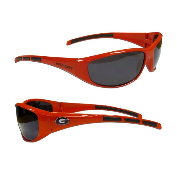 NCAA Georgia Bulldogs Wrap 3 Dot Sunglasses