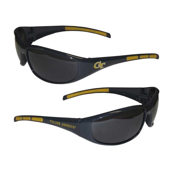 NCAA Georgia Tech Yellow Jackets Wrap 3 Dot Sunglasses