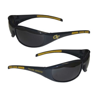 NCAA Georgia Tech Yellow Jackets Wrap 3 Dot Sunglasses
