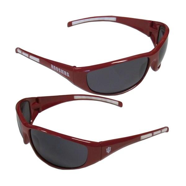 NCAA Indiana Hoosiers Wrap 3 Dot Sunglasses