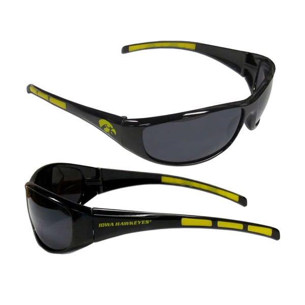 NCAA Iowa Hawkeyes Wrap 3 Dot Sunglasses