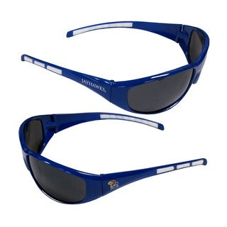 NCAA Kansas Jayhawks Wrap 3 Dot Sunglasses