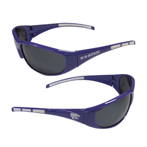 NCAA Kansas State Wildcats Wrap 3 Dot Sunglasses