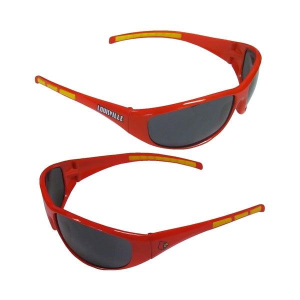 NCAA Louisville Cardinals Wrap 3 Dot Sunglasses