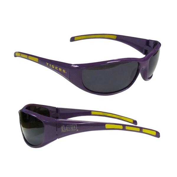 NCAA LSU Tigers Wrap 3 Dot Sunglasses
