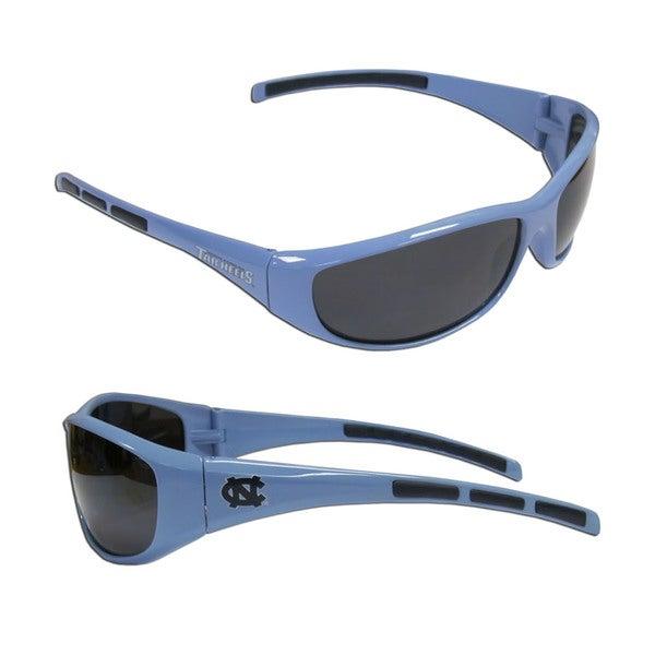 NCAA North Carolina Tar Heels Wrap 3 Dot Sunglasses