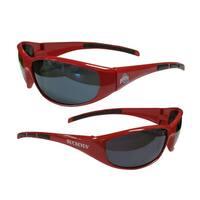 NCAA Ohio State Buckeyes Wrap 3 Dot Sunglasses
