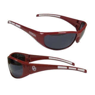 NCAA Oklahoma Sooners Wrap 3 Dot Sunglasses