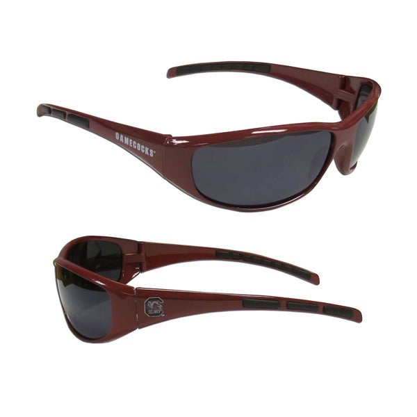 NCAA South Carolina Gamecocks Wrap 3 Dot Sunglasses