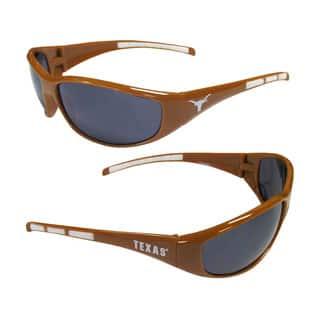 NCAA Texas Longhorns Wrap 3 Dot Sunglasses|https://ak1.ostkcdn.com/images/products/10693430/P17755433.jpg?impolicy=medium