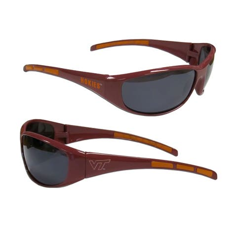 NCAA Virginia Tech Hokies Wrap 3 Dot Sunglasses