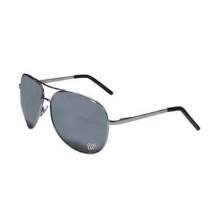MLB Washington Nationals Aviator Sunglasses (Option: Washington Nationals)