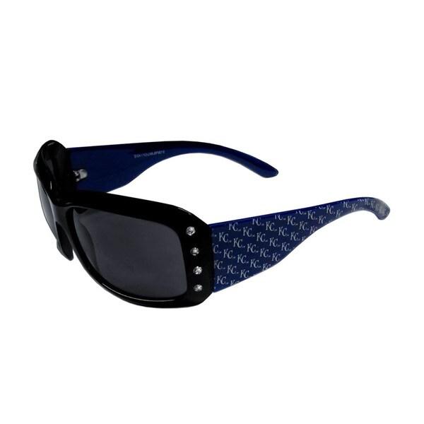 MLB Kansas City Royals Women's Designer Bling Sunglasses